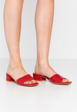 HAVANA - Mules - red