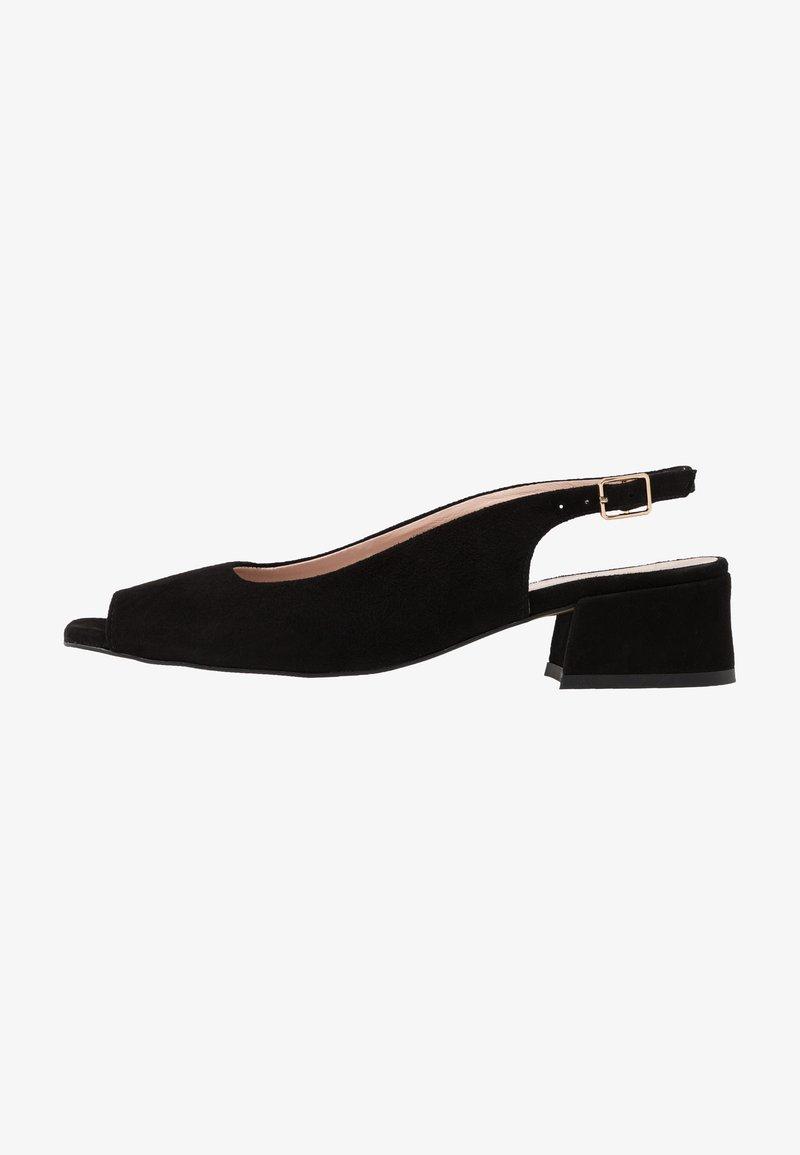 L37 - LAZY MORNING - Sandals - black
