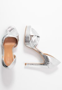 L37 - SOUNDS OF NIGHT - High heeled sandals - silver - 3