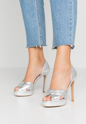 SOUNDS OF NIGHT - High heeled sandals - silver