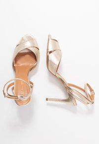 L37 - CROSSFIRE - High heeled sandals - gold - 3