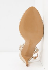 L37 - CROSSFIRE - High heeled sandals - gold - 6