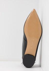 L37 - SAY MY NAME - Slingback ballet pumps - black - 4