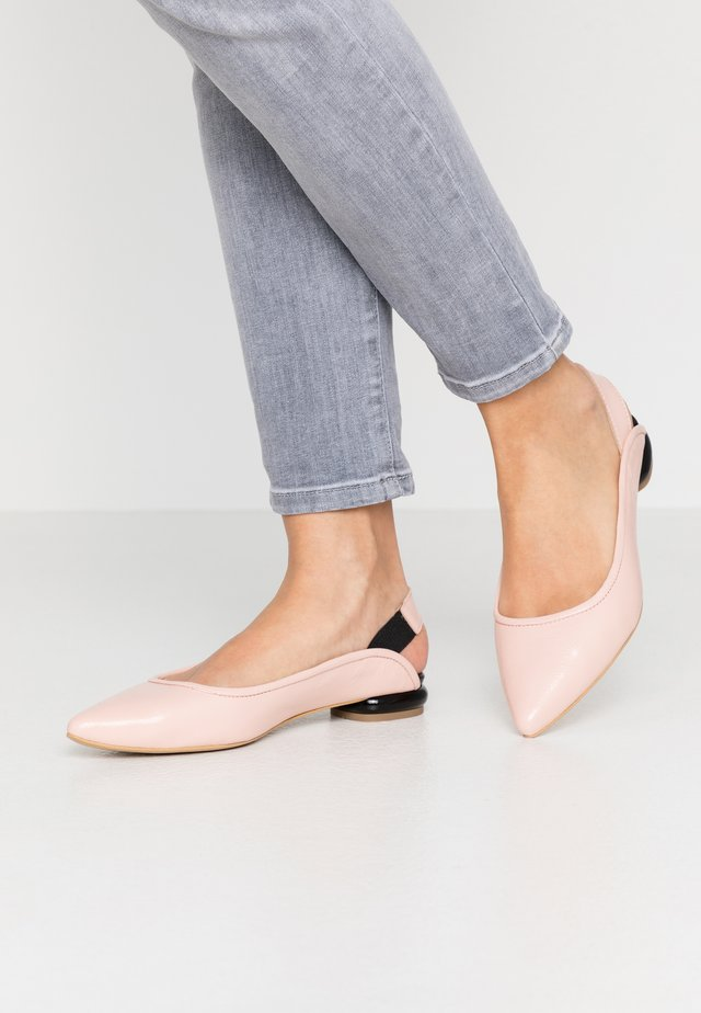 WANT U BACK - Slingback ballet pumps - pink