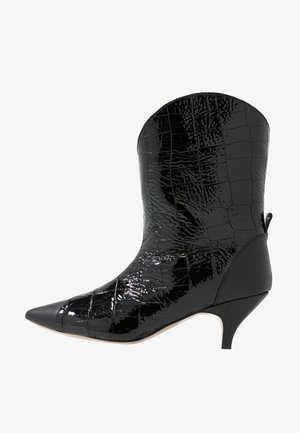 LIKE A DREAM - Cowboy/biker ankle boot - black