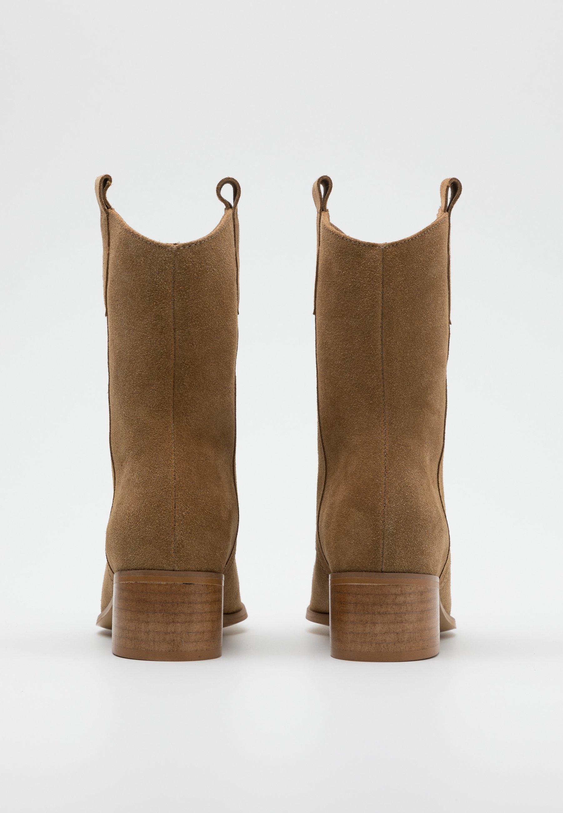 DIGGER Cowboy Bikerboots brown