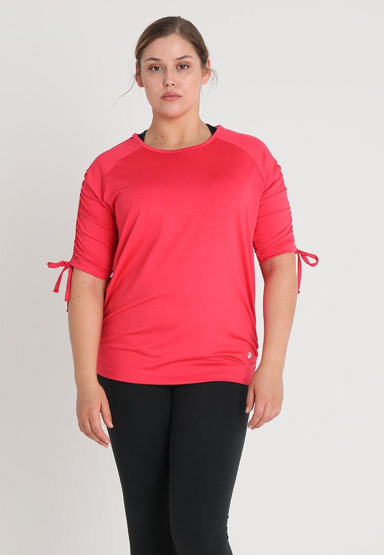 Raiski - SHIBA R+ - T-Shirt basic - teaberry red