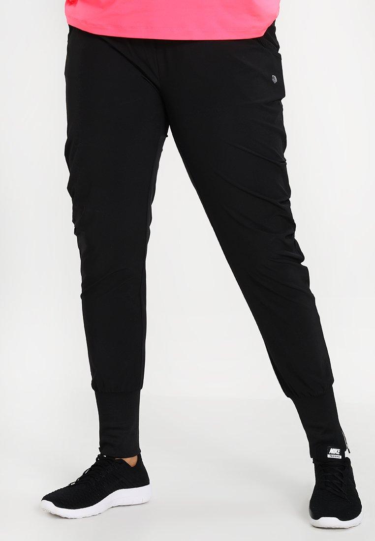 Raiski - NAMIKI PANTS - Pantalones deportivos - black