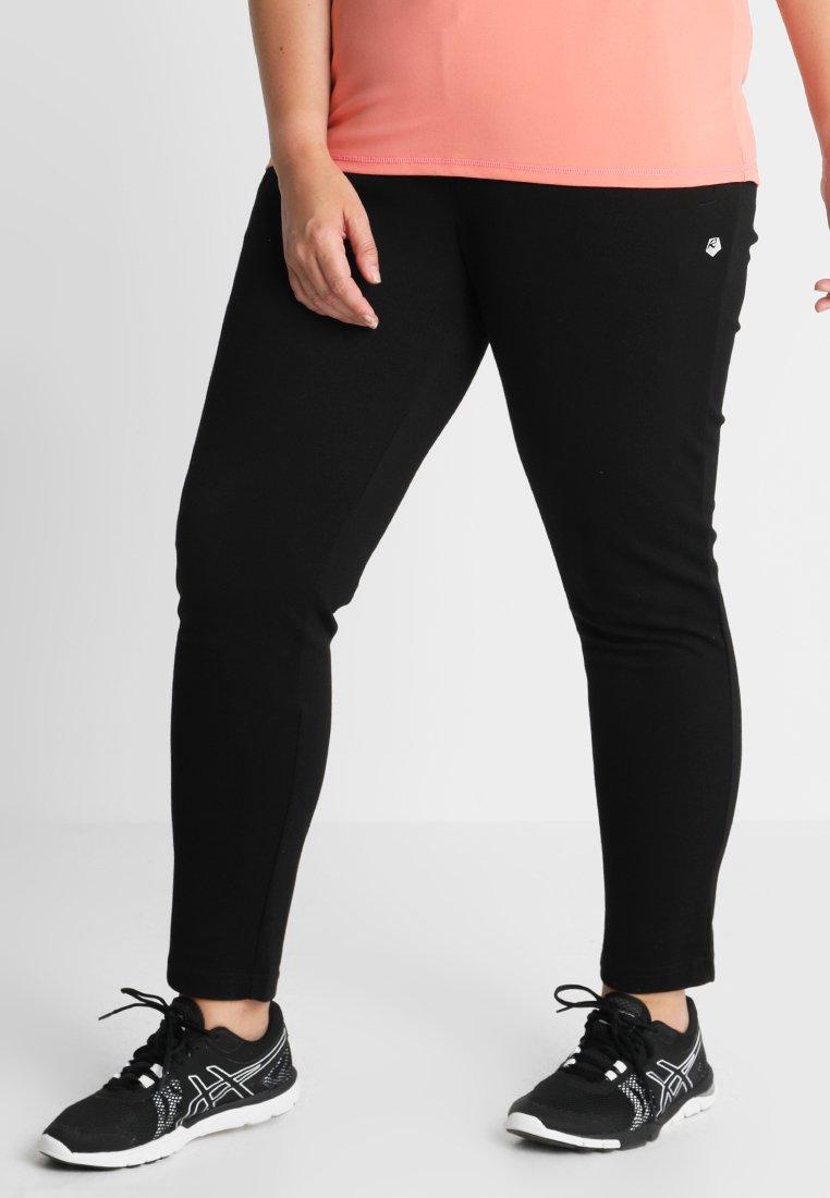 Raiski - YASAI PANTS - Jogginghose - black