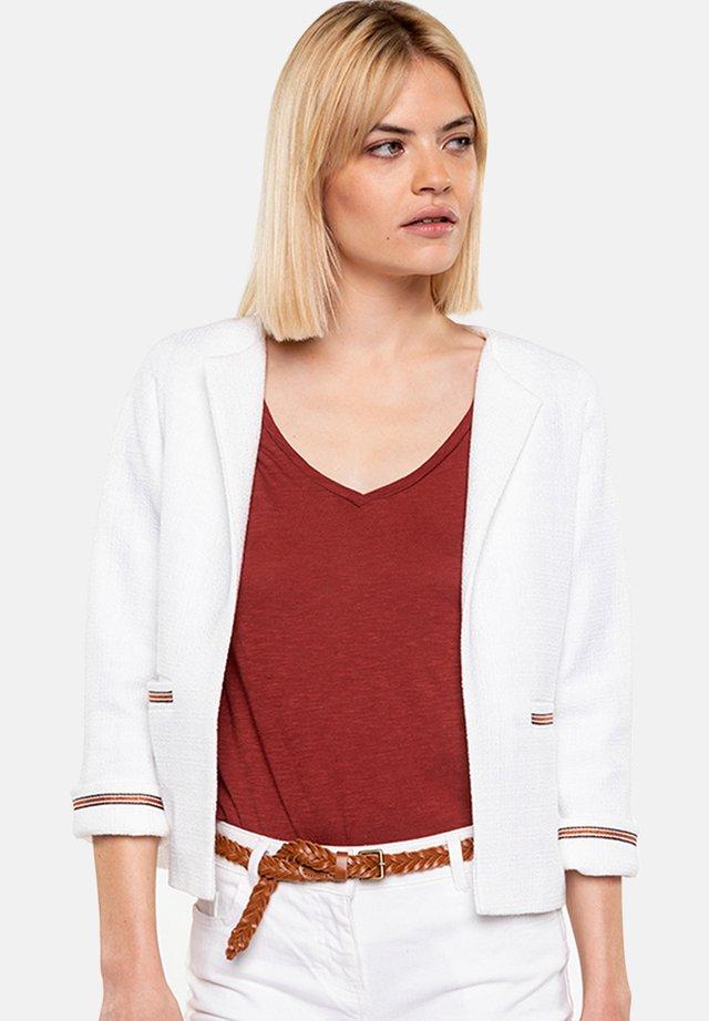 LACANAU - Summer jacket - white