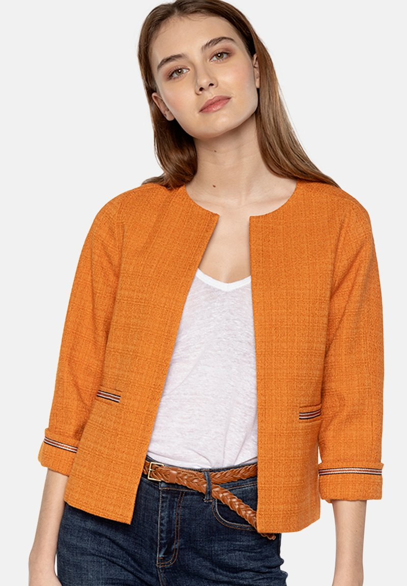 Trench and Coat by Lener - LACANAU - Summer jacket - orange