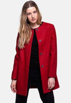 VEVRIER - Short coat - red