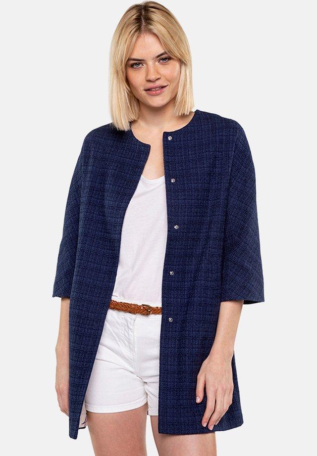 BARJOS - Short coat - navy blue
