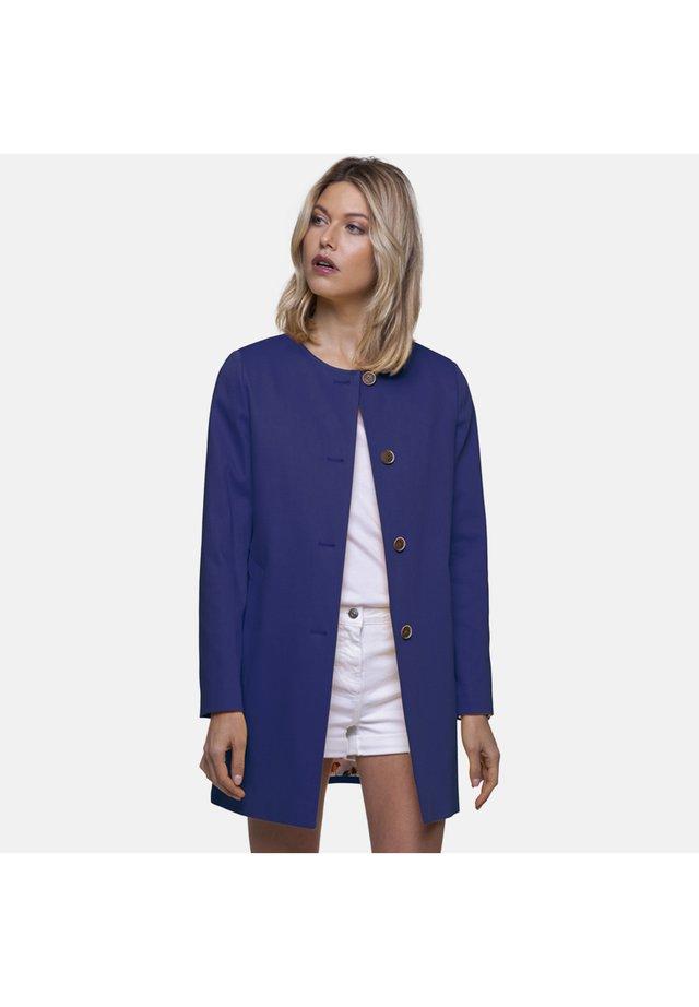 PIARIC - Short coat - blue