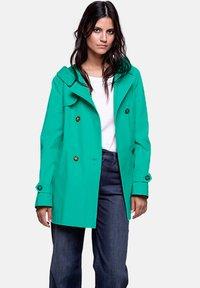 Trench and Coat by Lener - VACAJOU - Trenchcoat - green - 0