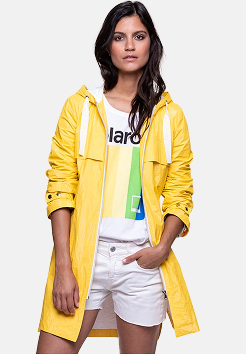 Trench and Coat by Lener - CENERI - Parka - yellow