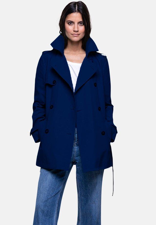 GASSIN - Trenchcoat - blue