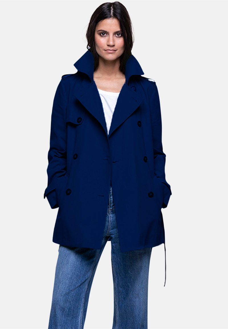 Trench and Coat by Lener - GASSIN - Trenchcoat - blue