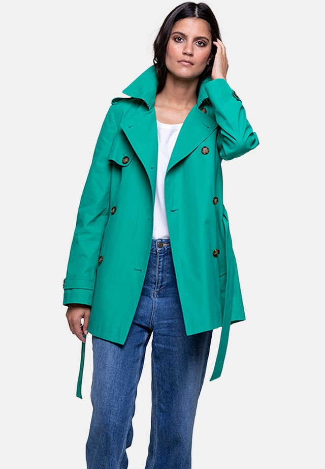 GASSIN - Trenchcoat - green