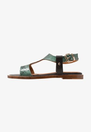 PLATE - Sandals - multicolor/forest