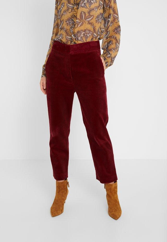MILO PANT - Trousers - lie de vin