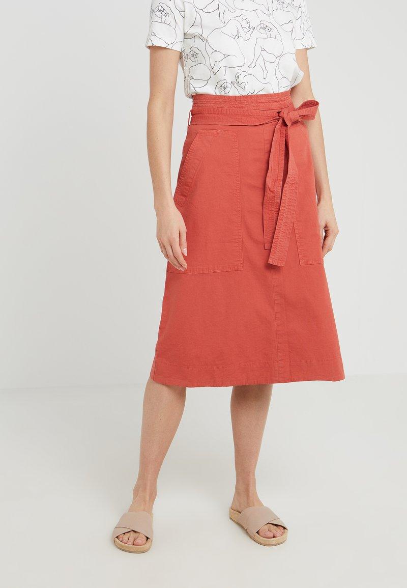 Vanessa Bruno - LORIANA - Áčková sukně - red