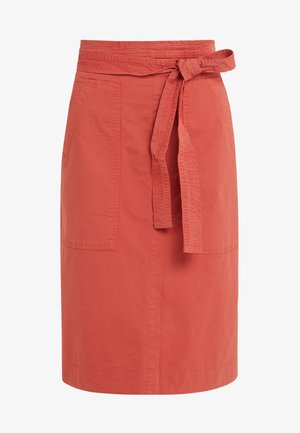 LORIANA - A-line skirt - red