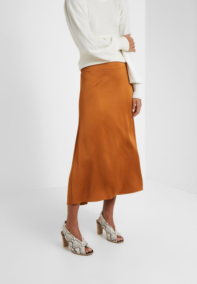 MARIE - A-line skirt - cannelle