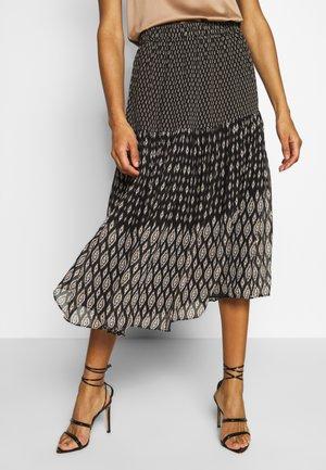 HERNANI - Spódnica trapezowa - noir