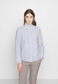 Vanessa Bruno - NICOLAS - Skjortebluser - blanc/bleu - 0