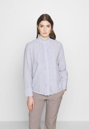 NICOLAS - Skjorte - blanc/bleu