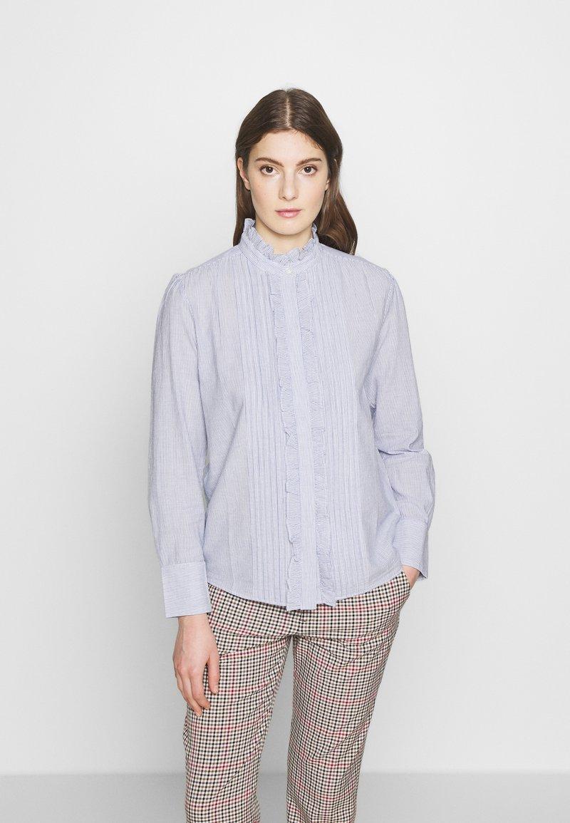 Vanessa Bruno - NICOLAS - Skjortebluser - blanc/bleu
