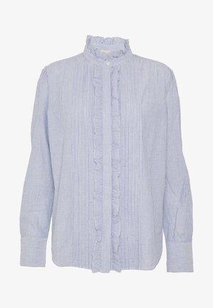NICOLAS - Overhemdblouse - blanc/bleu