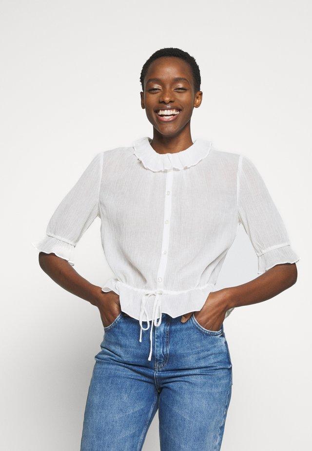 NELO - Košile - ivoire
