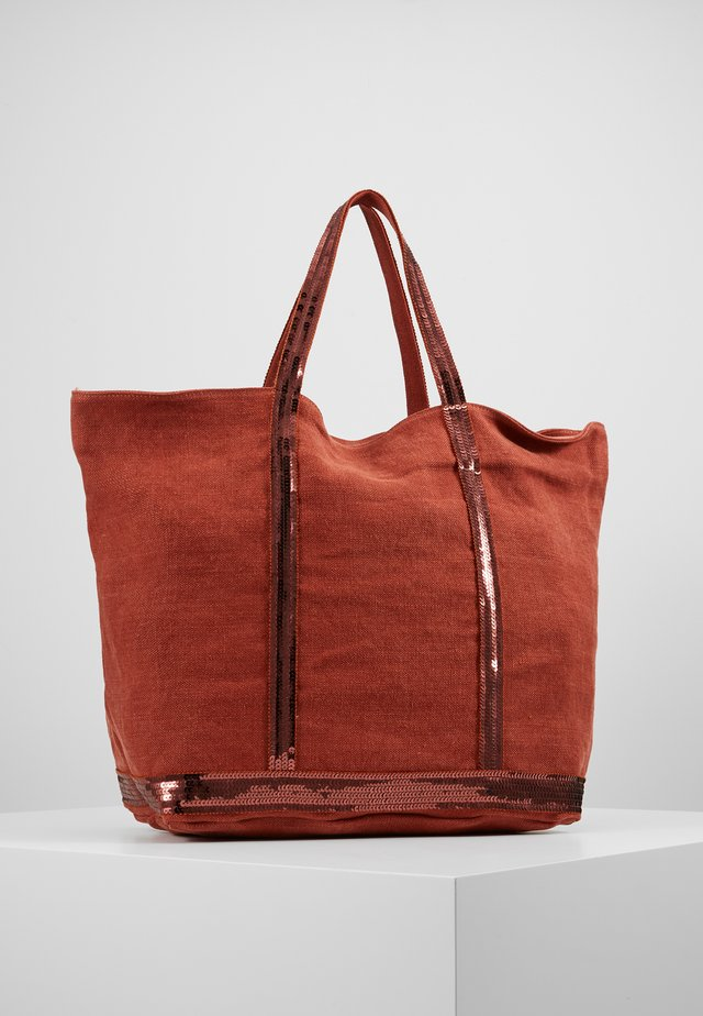 CABAS GRAND - Shopping Bag - sienne
