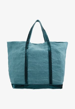 CABAS GRAND - Tote bag - turquoise