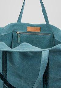 Vanessa Bruno - CABAS GRAND - Velká kabelka - turquoise - 4
