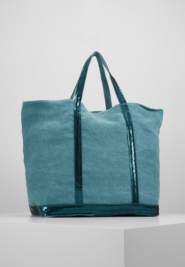 CABAS GRAND - Shoppingveske - turquoise