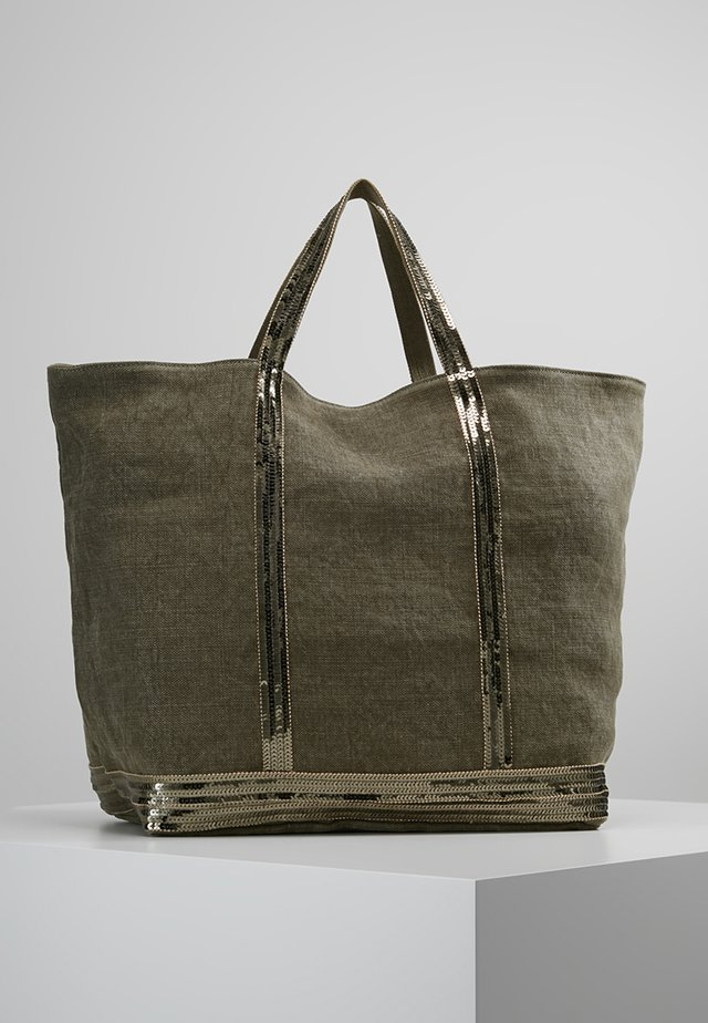 CABAS GRAND - Shopping Bag - kaki
