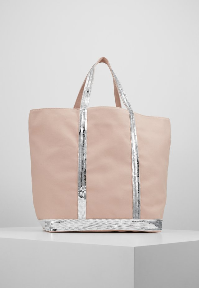 CABAS MOYEN - Shopping Bag - rose/argent