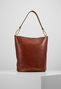Vanessa Bruno - HOLLY SAC SEAU - Torebka - cognac - 2