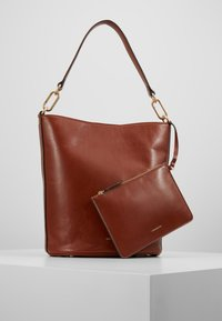 Vanessa Bruno - HOLLY SAC SEAU - Torebka - cognac - 5