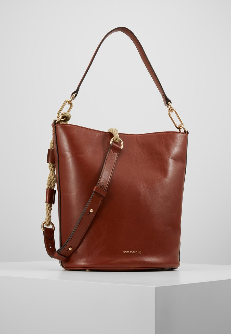 Vanessa Bruno - HOLLY SAC SEAU - Torebka - cognac