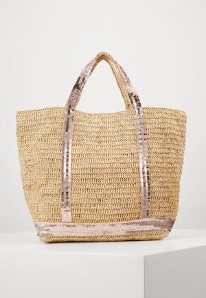 CABAS MOYEN - Shopping Bag - or rose