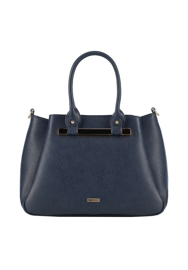 YOUNG - Handbag - marineblau