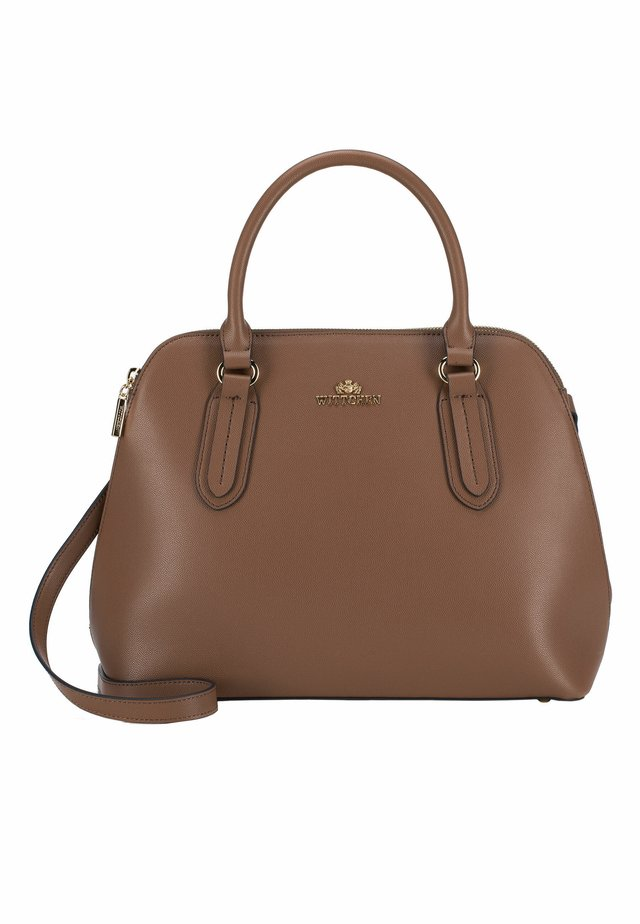 ELEGANCE - Handbag - braun