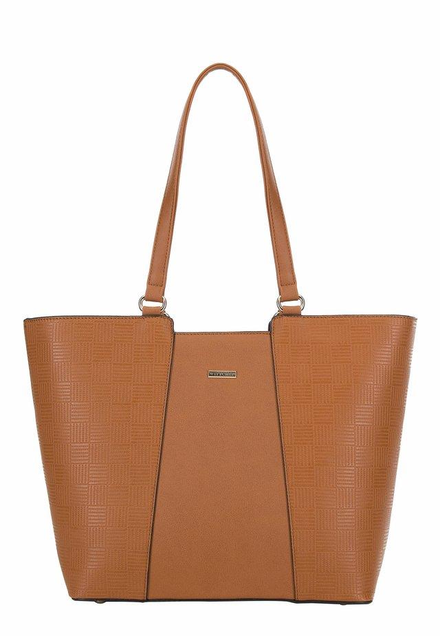 YOUNG - Tote bag - braun