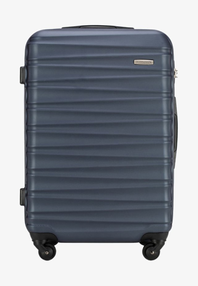 GROOVE LINE - Wheeled suitcase - blue
