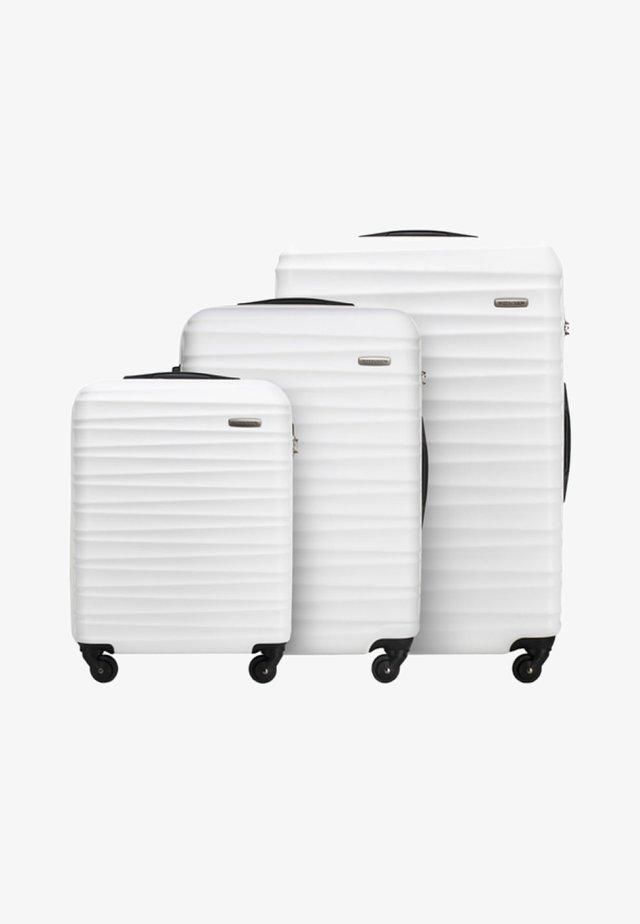 GROOVE LINE 3 PACK - Luggage set - weiß