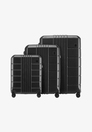 TRAIL STYLE 2 SET - Luggage set - schwarz